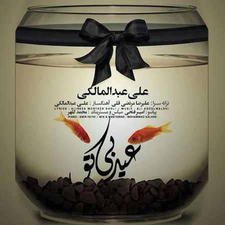 دانلود آهنگ علی عبدالمالکی عید بی تو + متن ترانه